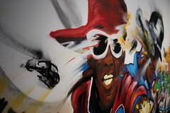 Nassyo, 'Roots' (oeuvre cre sur le site), 2015 - Exposition Hip Hop, du Bronx aux rues arabes (Institut du monde arabe) (thebackpackerz) Tags: paris site bronx du system arabic exposition le arabe sound sur hip hop monde rues oeuvre institut arabes cre nassyo