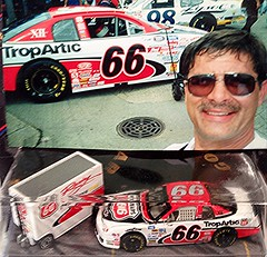 #51-42, Todd Bodine, #66, Phillips 66, Pictures With Real Hot Wheels Cars & Their Diecast (Picture Proof Autographs) Tags: photograph photographs inperson pictureproof photoproof picture photo proof image images collector collectors collection collections collectible collectibles classic authentic authenticated real genuine diecast auto autos vehicles vehicle model toy toys automobile automobiles autoracing sport sports nascar series winstoncup sprintcup busch nationwide hotwheels fred frederick weichmann