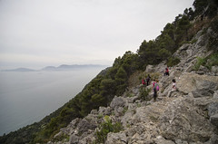Vista verso Portovenere e la Palmaria (Luca Rodriguez) Tags: trekking hiking liguria tellaro montemarcello lucarodriguez