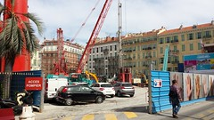 Square Durandy (denis6181) Tags: france nice paca avril tramway denis ligne2 travaux 2015 squaredurandy