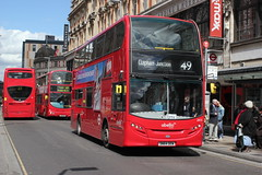 abellio London . 2472 SN64 OEW . St John's Road , Clapham Junction , South-West London . Friday 07th-May-2015 . (AndrewHA's) Tags: bus london route 49 400 whitecity destination alexander dennis hybrid battersea enviro claphamjunction londonbus tfl adl 2472 abellio e40h sn64oew