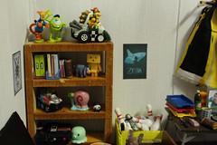 Making a Room (Sai da Minha Lente) Tags: toys diy room biscuit kinderovo miniaturas scale112 thelegendofzelda rements