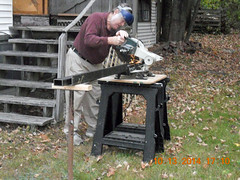 Hank Kennedy table saw project - diy guide rails 14