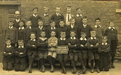 North Cave School 1913, East Yorkshire. (Neil M Cross) Tags: northcaveschool1913
