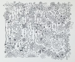 For Denise ... (Ginny Griffin) Tags: blackandwhite art illustration pen ink sketch drawing hobby doodle scribble draft micron