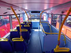 GAL MHV17 - BU16OZE - INTERIOR - BV BUS GARAGE - THUR 28TH APR 2016 J (Bexleybus) Tags: bus london ahead volvo interior garage go egyptian belvedere bv bodywork mcv goahead evoseti mhv17 bu16oze