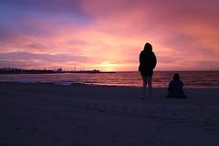 Sunrise over Barcelona Beach (sichunlam) Tags: barcelona beach sunrise spain catalonia catalunya sichunlam mintchocicecream  labarceloneta espaaspain catalunyacatalonia espana laurabirkin siishell feliciatortorici