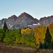 Taking in Maroon Bells and Nearby Mountain Peaks