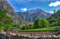 The Mountains Overlooking Bumburet Valley (Emaad Paracha) Tags: festival fort top pass mosque valley mir dir kalash shahi mardan chitral malakand lowaripass lowari terich bumburet lowaritop timergara chilimjusht