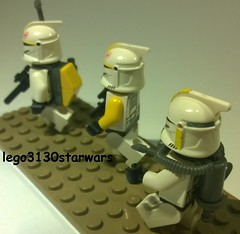 lego star wars yellow clones custom lego3130starwars (lego3130starwars) Tags: yellow star lego clones wars custom lego3130starwars