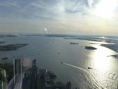 New York, NY Views from the One World Observatory (army.arch) Tags: nyc newyorkcity ny newyork observation islands harbor deck statueofliberty statenisland verrazanobridge governorsisland ellisisland verrazanonarrows newyorkharbor 1worldtradecenter oneworldtradecenter oneworldobservatory