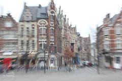 Gent (Belgium) (Maddily M.G.) Tags: houses streets belgium belgique beaut effect gent gand beton mouvement pointdevue btiments visualeffect