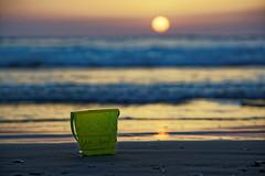 Israel (Hemo Kerem) Tags: street sunset seascape beach water israel telaviv bucket waves minolta sony mf alpha manualfocus tlv 135mm rokkor minoltamd135mmf28 a7rii sonya7rm2 a7rm2 ilce7rm2