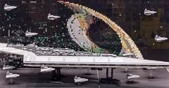 The Imperial Fleet (SEdmison) Tags: seattle washington starwars lego empire deathstar comicconvention stardestroyer emeraldcitycomicon 2016 eccc bricknation emeraldcitycomicon2016