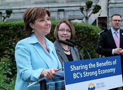 Minimum wage increases (BC Gov Photos) Tags: workers employment jobs pay economy workforce wageincrease shirleybond premierchristyclark
