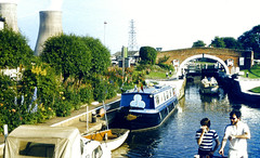 Slide 060-11 (Steve Guess) Tags: uk england river canal leicestershire union grand gb soar