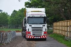 Ex Stobart 'Caroline Maisie' (stavioni) Tags: ex truck construction caroline lorry eddie trailer ltd maisie scania sdw stobart r440 h8304 px62duu