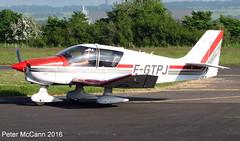 F-GTPJ  DR400 Fife June 2016 (pmccann54) Tags: glenrothes robindr400 fiferegionalairport fgtpj