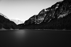 (dadou~) Tags: lake france mountains alps nature lac ricohgr montagnes frenchalps morzine montriond