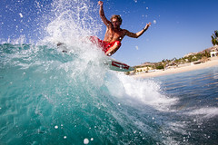 (justinbastien) Tags: male mexico surf action surfer surfing bajacalifornia baja athlete pitted