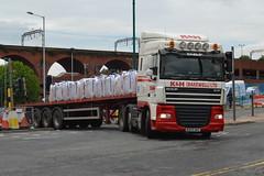 K&H (Bakewell) Ltd DAF XF MK59AKO - Stockport (dwb transport photos) Tags: truck stockport kh ltd bakewell daf hgv mk59ako