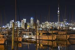 Auckland Skyline (1Nine8Four) Tags: longexposure newzealand nikon nightshot auckland nz northisland nightshots northland dx 18200mm aucklandskytower nikondx 18200mmvr d7100 nikon18200mmf3556vr nikond7100