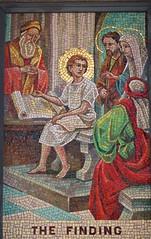 Mosaic (D. Brigham) Tags: religious catholic christ mosaic madonna religion jesus catholicism eastboston queenoftheuniverseshrine