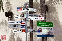 Saigon.  I'm still only in Saigon? (*PhotoByJohn*) Tags: california sign losangeles other error things vietnam 5d saigon hochiminhcity sanpedro losangelespubliclibrary lapl fail signmistake sisterports photobyjohn wrongsign canon5dmkii 5dmkii geographyfail libraryfail joebuscaino buscaino sgnerror
