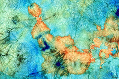 Blue And Orange Abstract - Time Dance - Sharon Cummings (BuyAbstractArtPaintingsSharonCummings) Tags: orange abstract green art texture home water metal mystery modern dark gold cool aqua acrylic underwater earth turquoise contemporaryart contemporary teal modernart under deep bubbles canvas earthy decorating mysterious decor ideas liquid interiordesign tone bubbly textured olivegreen watery textural earthtone modernhome abstractarty moderndecor sharoncummings