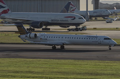 D-ACNE / Bombardier CRJ-900LR / 15241 / Germanwings (A.J. Carroll) Tags: london heathrow lufthansa lhr crj bombardier germanwings crj900 egll 15241 27r dacne cr9 crj900lr cf348c5 3c4dc5