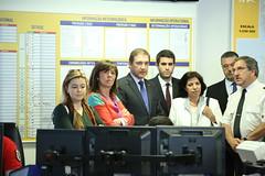 Pedro Passos Coelho visita Autoridade Nacional da Proteção Civil