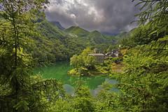 Smeraldo / Emerald (Lago Isola Santa, Tuscany, Italy) (AndreaPucci) Tags: italy lake alps lucca tuscany garfagnana apuan lagoisolasanta