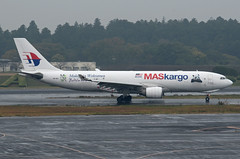 Malaysian Cargo Airbus A330-223F 9M-MUD Malaysia welcome FuWa & Feng Yi (EK056) Tags: malaysian cargo airbus a330223f 9mmud malaysia welcome fuwa feng yi tokyo narita international airport