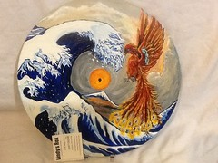 image (lindys rox) Tags: phoenix japanese painted vinyl inspired wave record