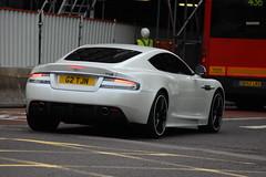 Aston Martin DBS (D's Carspotting) Tags: white london martin united kingdom aston dbs 20110617 g2tjn