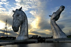 The Kelpies (Clare H Photography) Tags: 2 two horse monument scotland unanimous kelpies thechallengefactory