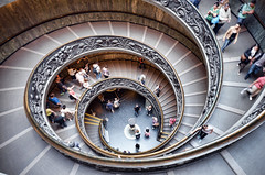 Spiral Stairs in the Vatican