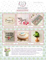 Bustle & Sew Magazine May 2015 (Bustle & Sew) Tags: magazine embroidery sewing patterns softie stitching bustlesew