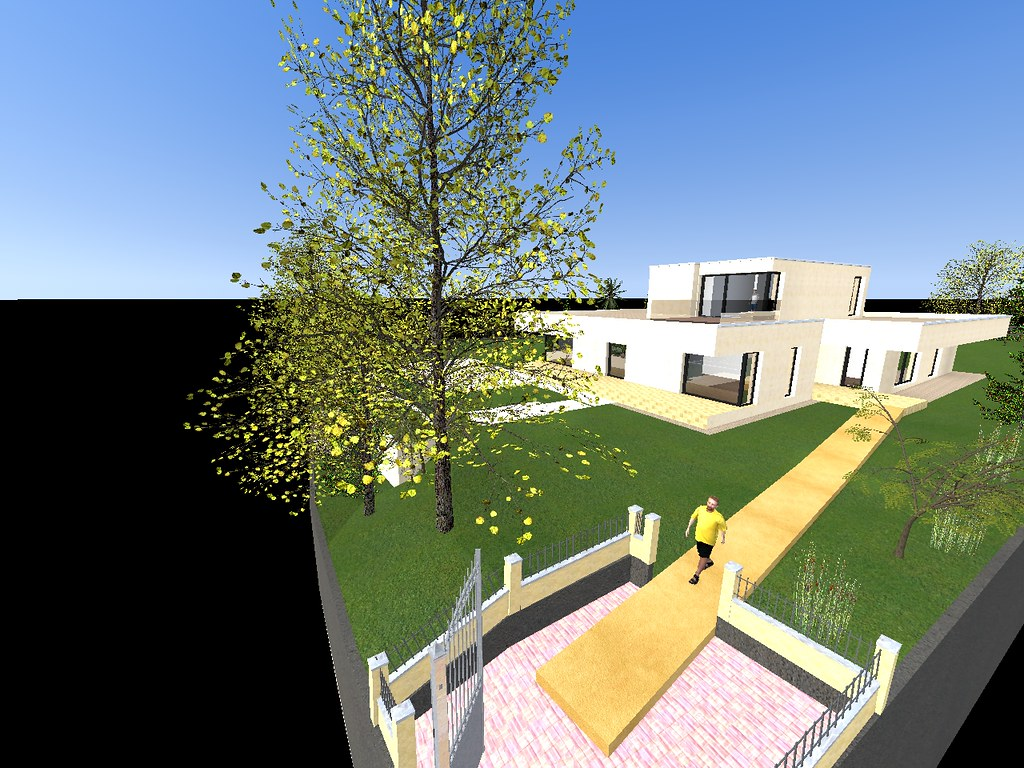 The world 39 s newest photos of 3d and artlantis flickr for Sketchup jardin