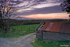 Scartaglen farmhouse (mangan.denis) Tags: ireland sunset beautiful farmhouse landscape evening countryside nikon warm vibrant scenic vivid panoramic picturesque leadinglines amateurphotographer discoverireland d3100