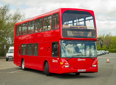 Go North East 6124 GX03SUU: Scania N94UD/East Lancs. (LVNWtransFoto) Tags: bus coach rally gateshead scania metrocentre 608 brightonhove gonortheast eastlancs 6124 n94ud canoneos1dmkiv gx03suu nebt nebuses