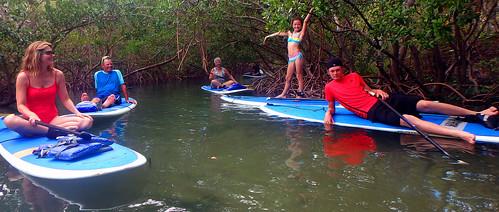 Family fun on our Paddleboard and Kayak Tour Lido Key Sarasota