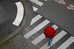 Paris (sweethardt) Tags: street man paris rain corner umbrella may jeans saintgermain crosswalk 2015 hotelbelami sweethardtphotography ©2015jenniferhardt