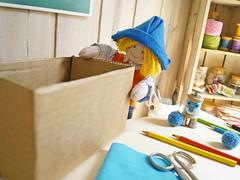 Vamos lá? (Ateliê Bonifrati) Tags: cute golf diy artesanato craft reciclagem pap brincadeira papelão passoapasso bonifrati façovocêmesmo
