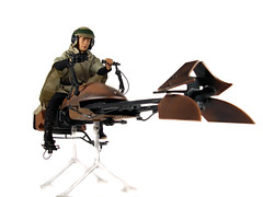Jedi Luke on Speeder Bike (mista_carrot) Tags: starwars jedi lukeskywalker starwarsday speederbike maythe4th maythe4thbewithyou