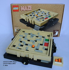 LEGO Ideas 21305 Maze (KatanaZ) Tags: lego maze 13 ideas cuusoo jasonallemann jkbrickworks lego21305