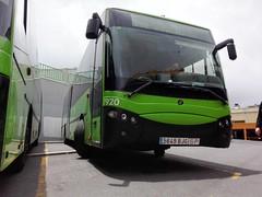 titsa_7920 (Dani_riderC35A) Tags: bus green coach shine garage tenerife depot parked magnus scania titsa castrosua