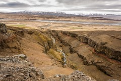 Blugil Skagafjordur Iceland (Einar Schioth) Tags: summer cliff cloud nature water clouds canon river landscape photo iceland rocks day outdoor ngc picture canyon bola sland nationalgeographic skagafjordur bla blugil einarschioth bolugil