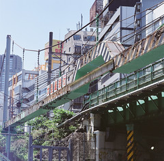 Tokyo (brandonwinters) Tags: trip summer vacation film japan tokyo fuji may hasselblad 400 80mm 2016 503cw
