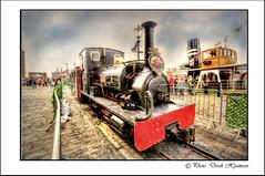 """ LILLA"" (Derek Hyamson) Tags: liverpool weekend railway steam hdr albertdock"